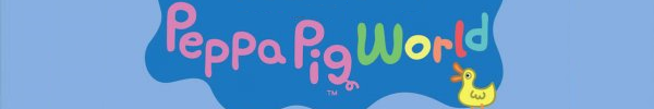 Peppa Pig World Banner